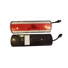 Фонарь задний КАМАЗ,МАЗ Н.О. Левый светодиодный  с разъемом АМР