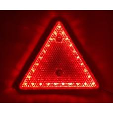 Световозвращатель треугольник диодный  для грузовых автомобилей