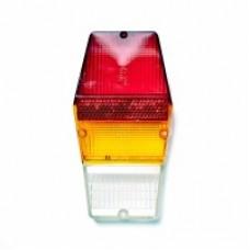 Рассеиватель фонаря задний ВОЛГА 2410 (горбатый из 3-х частей)