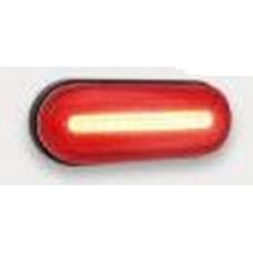 Фонарь габаритный 154 красный универсальный  с неоновым маркерным светом Новинка